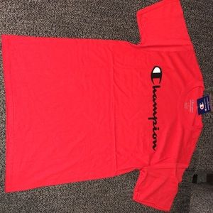 Brand new Champion Men Red T shirt